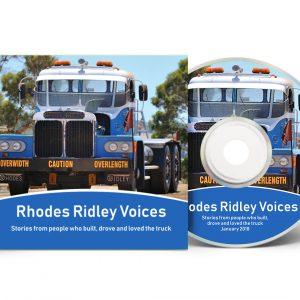 Rhodes Ridley CD